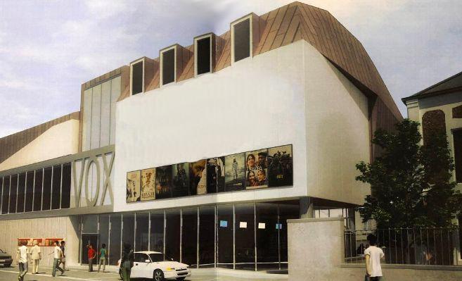 Rambouillet : le futur cinéma Vox