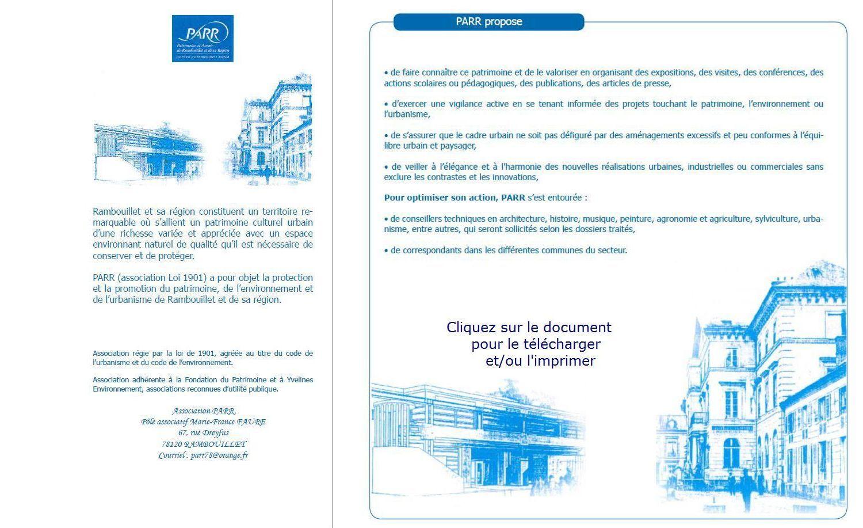 bulletin d'inscription PARR Rambouillet