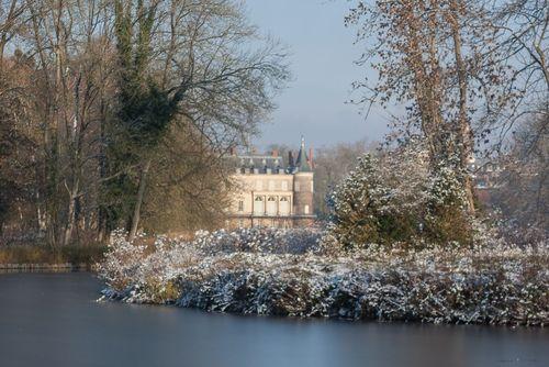 le Chateau de Rambouillet en hiver
