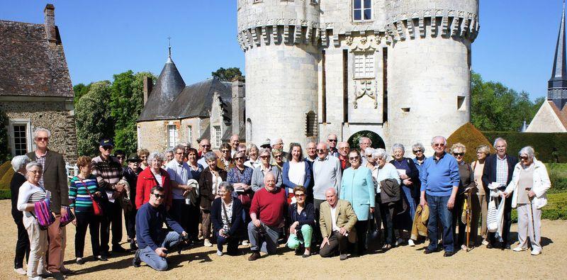 Chateau de Frazé. Visite de PARR
