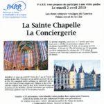 La Sainte Chapelle et la Conciergerie