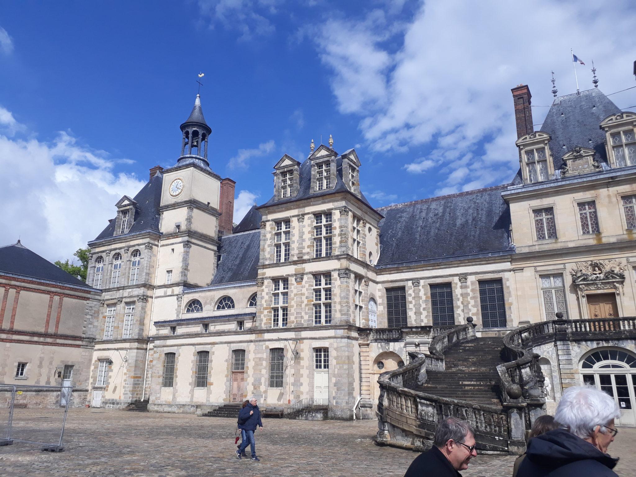 Fontainebleau, le château et la ville