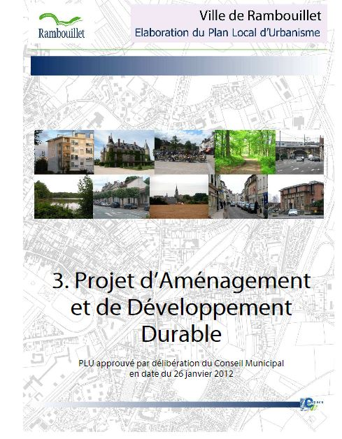 L'urbanisme à Rambouillet.
