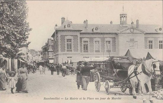 Le marché de Rambouillet