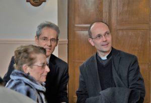inauguration de la réfection de la chapelle de l Hopital...