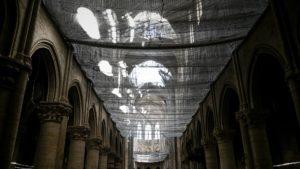 Les travaux de Notre-Dame de Paris